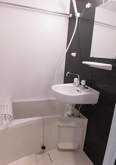 【浴室】横浜市鶴見区潮田町1丁目一棟アパート