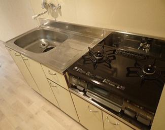 【キッチン】《高稼働!鉄骨造10.92%》札幌市西区山の手三条1丁目一棟マンション