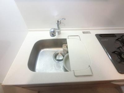 水栓は便利なハンドシャワー型を採用。浄水能力や節水能力も高く、4種類の吐水切り替え機能付きです。