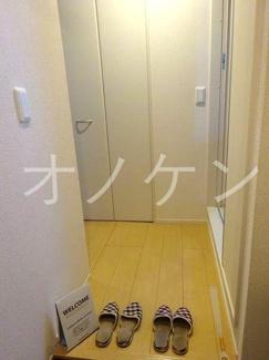 【玄関】サニーハイツ青山B棟