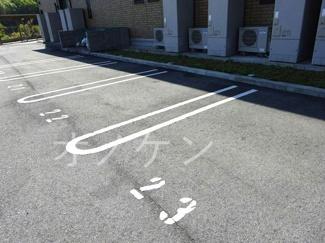 【駐車場】サニーハイツ青山B棟