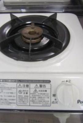 1口ガスキッチン(同一仕様写真)