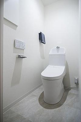 新規リノベーションでトイレ新規交換済です。
