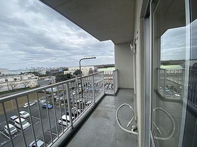 6階部分につき、お部屋からの眺望良好です。