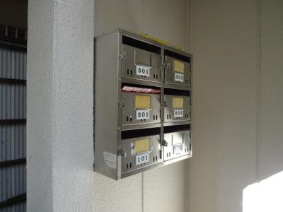 深尾マンション メールボックス 鶯谷の賃貸物件。 深尾マンション