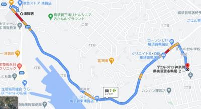 【地図】鴨居2丁目戸建て