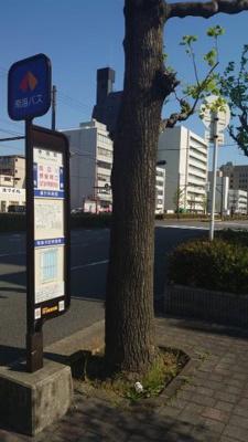南海バス停車駅すぐ