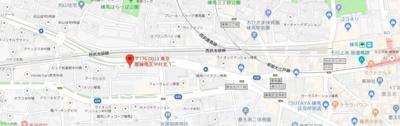 【地図】ビーシティアパートメントトウキョウネリマ