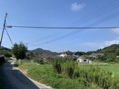 【前面道路含む現地写真】糸島市志摩吉田