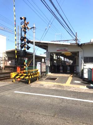 南海本線 和泉大宮駅です! 徒歩15分圏内なので電車通勤なども可能になります!