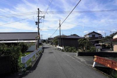 【前面道路含む現地写真】行橋市大字高瀬