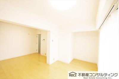 【居間・リビング】ライオンズマンション魚崎第3
