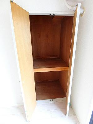 洋室8帖のお部屋にある収納スペースです!お部屋がすっきり片付いて快適に!※参考写真※
