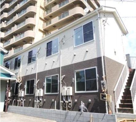 【外観】川崎市川崎区浜町の一棟売りアパート