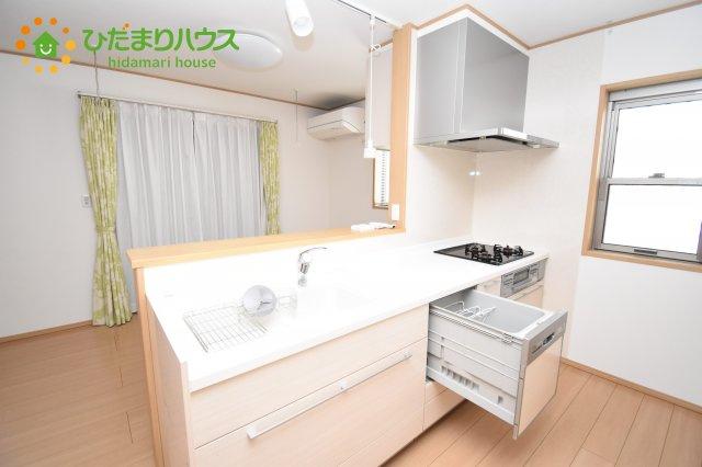 【キッチン】鴻巣市北新宿 中古一戸建て