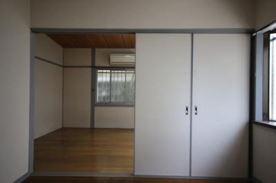 【寝室】ハイツ本山北町