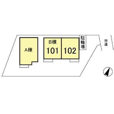 【区画図】青楓館 壱番館