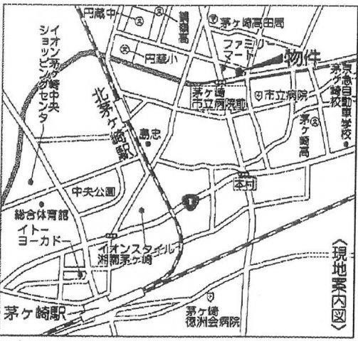 【地図】売地 茅ヶ崎市高田4丁目 A区画
