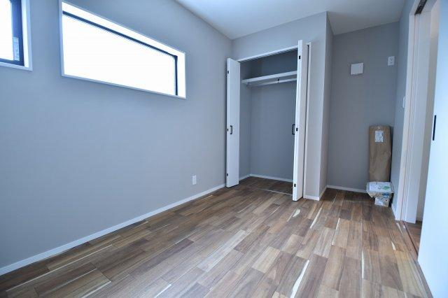 1階洋室5.0帖 1階でもこの明るさです。