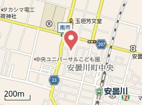 【地図】ハピネス向日葵