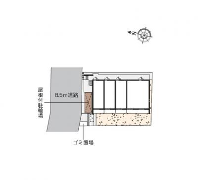 【地図】NSⅡ