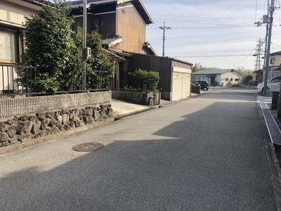 【前面道路含む現地写真】小野市高山町中古戸建