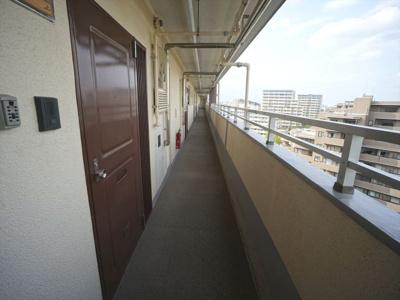 共用廊下11階部分