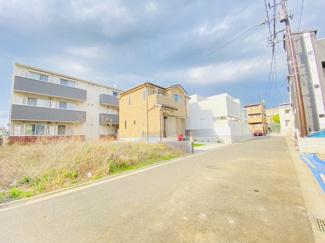千葉市中央区弁天 土地 千葉駅 前面道路も幅広く、駐車も安心です!
