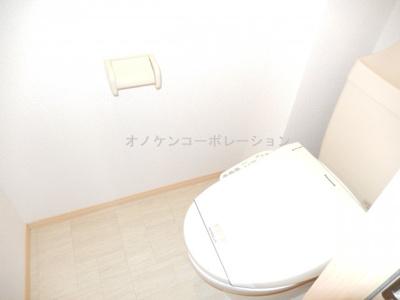 【トイレ】パークハイム弐番館 A棟