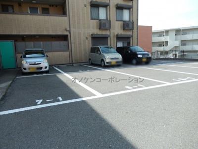 【駐車場】パークハイム弐番館 A棟