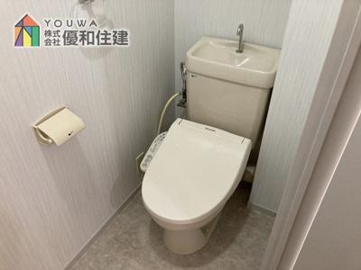 【トイレ】サンヴェール明石