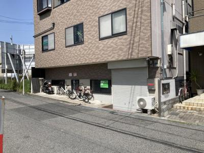 【外観】上野芝 事務所店舗・倉庫 約21坪