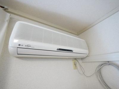 必需品のエアコン完備