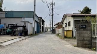 【前面道路含む現地写真】船橋市豊富町 土地 北習志野駅