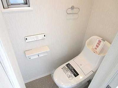 一体型のトイレです