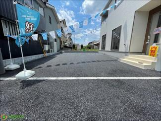 駐車スペース2台分ございます!