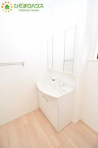 【独立洗面台】鴻巣市松原 第6 新築一戸建て クレイドルガーデン 01