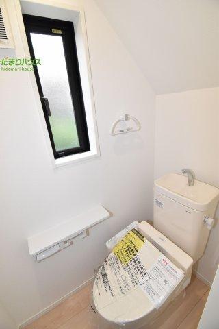 【トイレ】鴻巣市松原 第6 新築一戸建て クレイドルガーデン 01