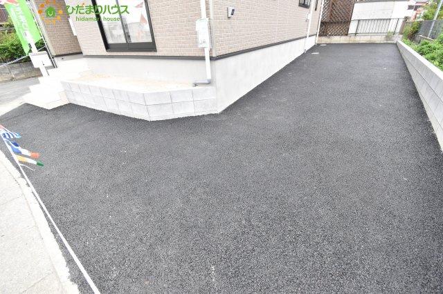 【駐車場】鴻巣市松原 第6 新築一戸建て クレイドルガーデン 01