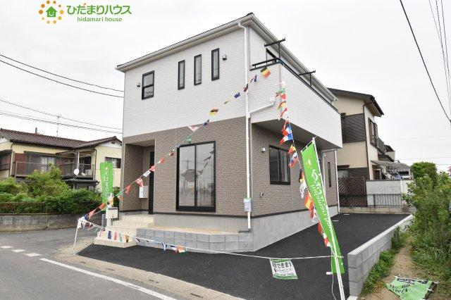 【外観】鴻巣市松原 第6 新築一戸建て クレイドルガーデン 01