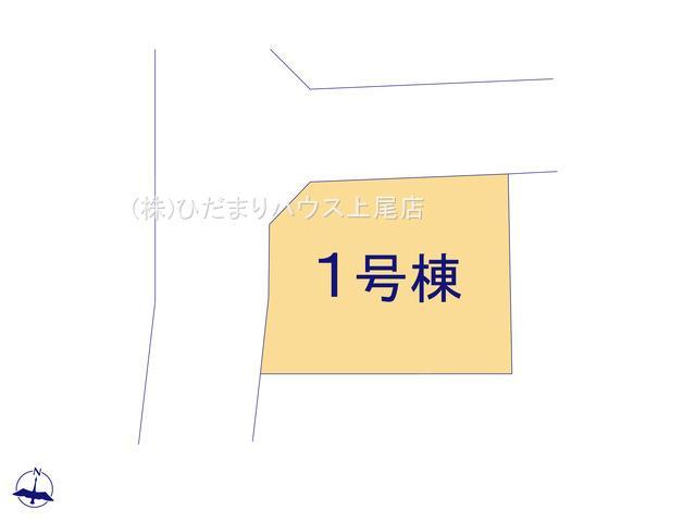 【区画図】鴻巣市松原 第6 新築一戸建て クレイドルガーデン 01