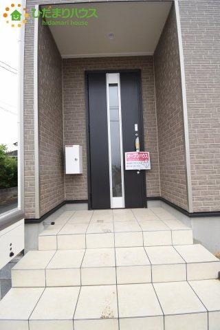 【玄関】鴻巣市松原 第6 新築一戸建て クレイドルガーデン 01