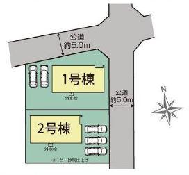 【区画図】さいたま市西区西大宮2丁目 2期