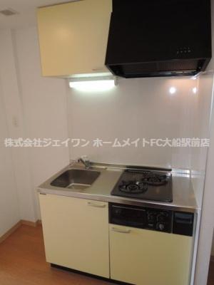 【キッチン】鎌倉服部ビル
