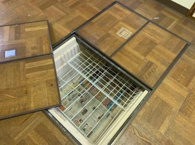 床下収納があります。