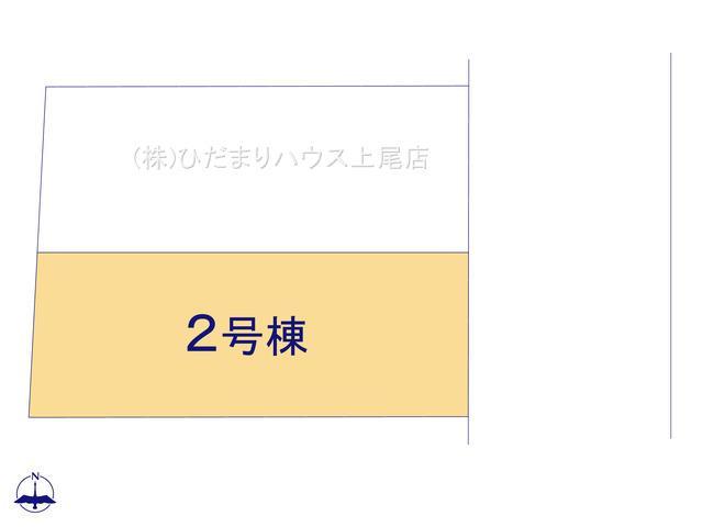【区画図】見沼区丸ヶ崎 第13 新築一戸建て リーブルガーデン 02