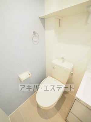 【トイレ】ハーモニーテラス柴又Ⅳ