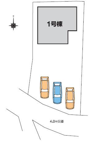 【区画図】高崎市倉賀野町 1号棟