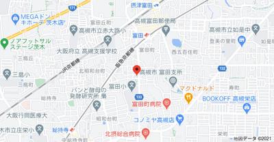 【地図】吉田ハイツ88 (株)Roots