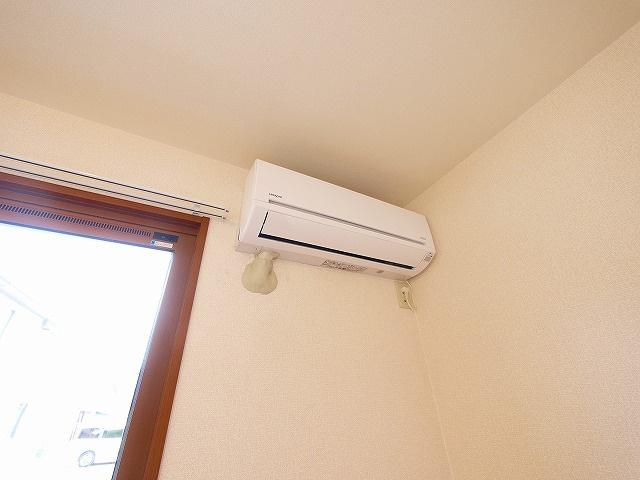 エアコンが付いているお部屋